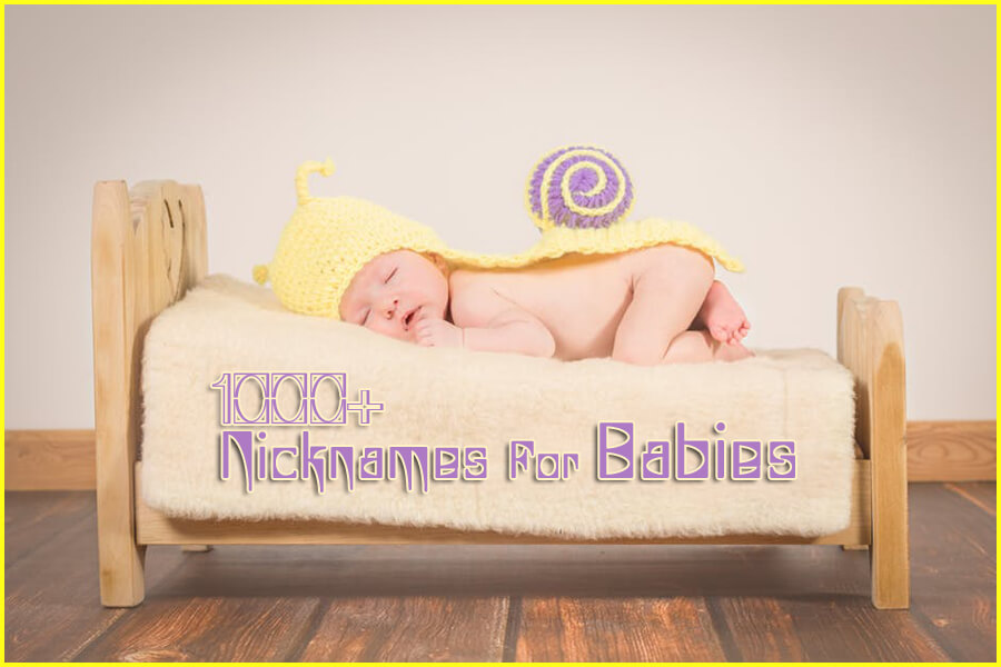 1000+ Nicknames for Babies