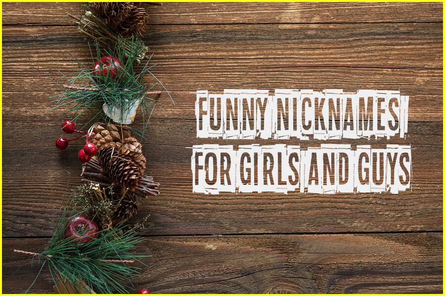 2000+ Funny Nicknames for Guys and Girls