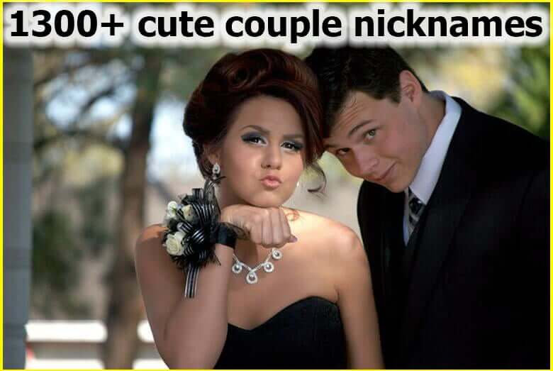 1300+ Funny and Cute couple nicknames for Him and Her